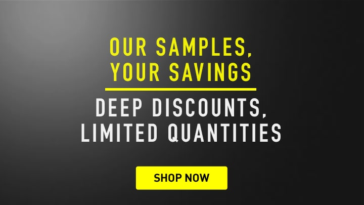 Our Samples, Your Savings Deep Discounts, Limited Quantities at ShopHQ
