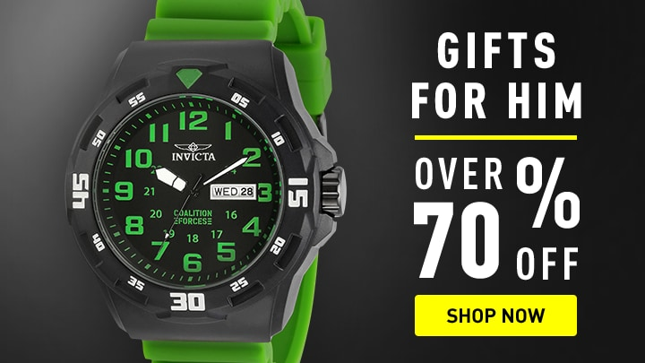 Invicta Gifts for Him over 70% Off Shop Now