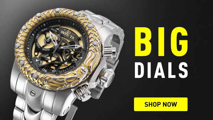 Invicta Big Dials Shop Now