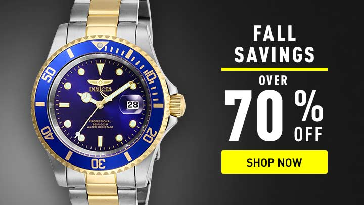 Fall savings over 70% off at ShopHQ - shop now - 674-734 Invicta Set of 3 40mm Pro Diver Quartz Bracelet Watches w 3-Slot Dive Case