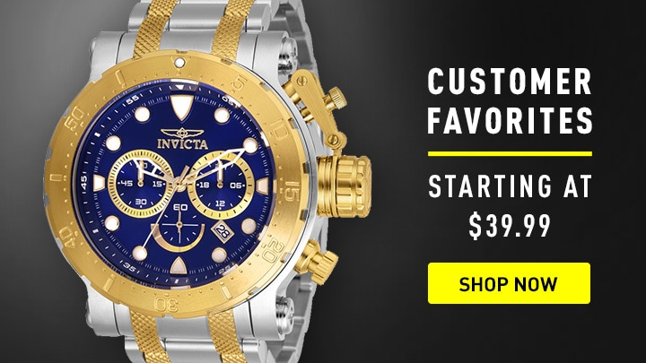 Customer Favorites Starting at $39.99 at ShopHQ - 659-349 Invicta Men's 52mm Coalition Forces Quartz Chronograph Stainless Steel Bracelet Watch