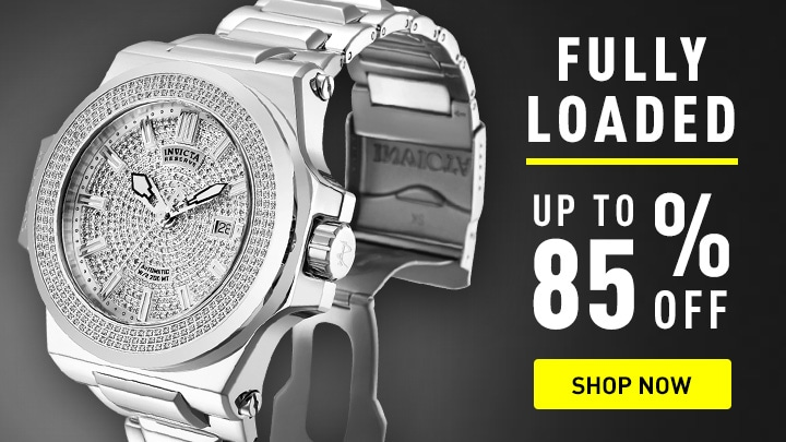 Automatics Starting at $69.99 at ShopHQ - 665-641 Invicta Men's Reserve 58mm Akula Swiss Automatic 2.91ctw Diamond Date Bracelet Watch