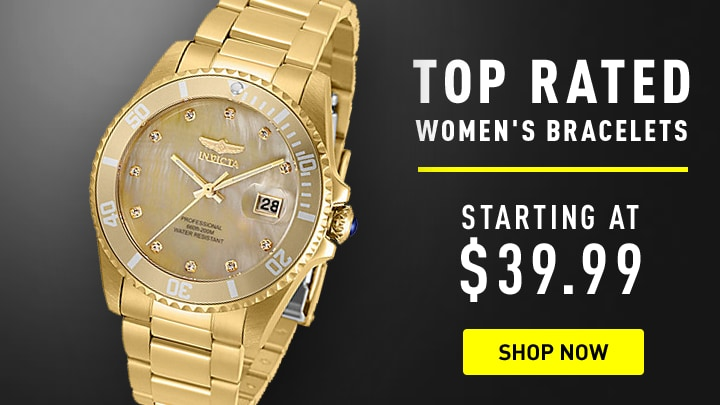 Invicta Top Rated Women's Bracelets Starting at $39.99