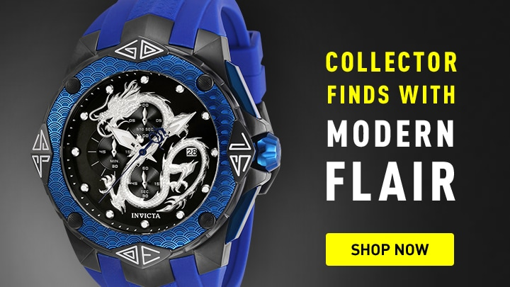 Invicta Collector Find with Modern Flair at ShopHQ 673-222