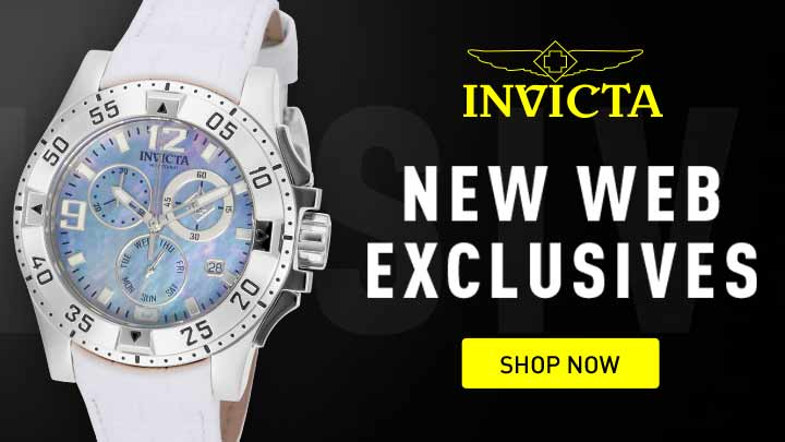 Invicta New web exclusives at ShopHQ - Shop Now - 661-518 Invicta 40mm Pro Diver Quartz Magnified Date Window Stainless Steel Bracelet Watch