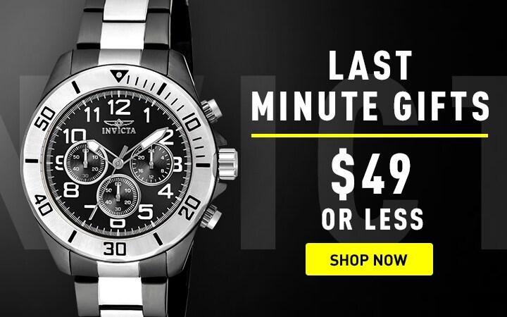 Last Minute Gifts $49 or less Shop now at ShopHQ |  677-481 Invicta Men's 45mm Pro Diver Quartz Chronograph Stainless Steel Bracelet Watch