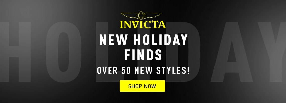 Invicta New Holiday Finds Over 50 New Styles! at ShopHQ