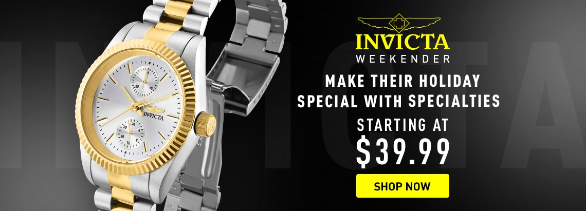 Invicta Make Their Holiday Special at ShopHQ