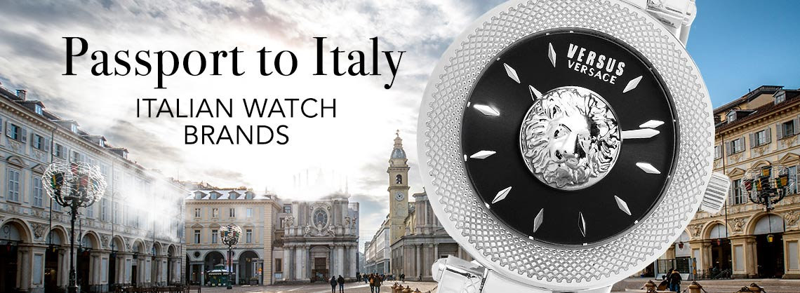 Up To 80% Off  Passport to Italy - 658-788 Versus Versace Women's Brick Lane Quartz Sunray Dial Stainless Steel Bracelet Watch