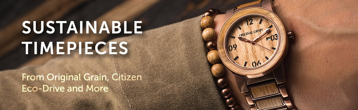 Sustainable Timepieces  From Original Grain, Citizen Eco-Drive and More at ShopHQ