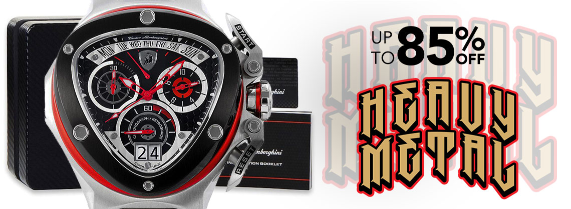 UP TO 85% OFF HEAVY METAL WATCHES  - 664-731