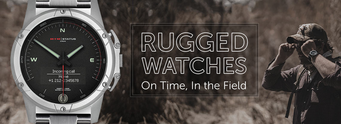 Rugged Watches  On Time, In the Field - 671-957