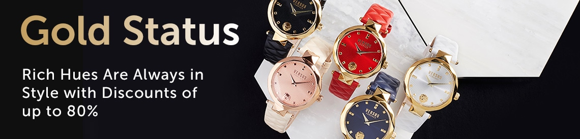 Gold Status; Rich Hues are Always in Style with Discounts of up to 80%