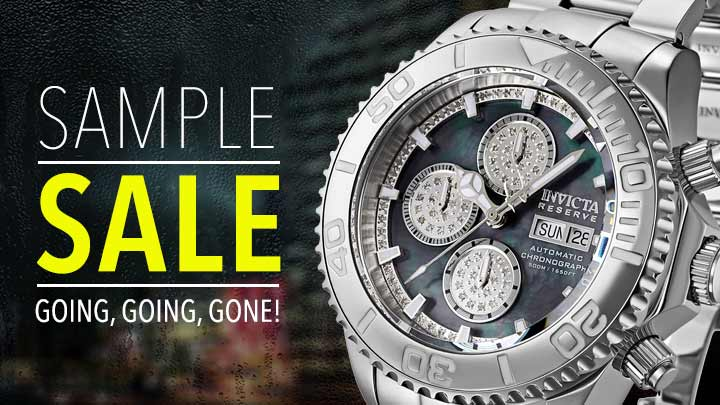 SAMPLE SALE GOING, GOING, GONE! at Evine -670-491 As Is Invicta Reserve Men's 47mm Pro Diver LE Swiss Automatic 0.42ctw Diamond Chronograph Watch
