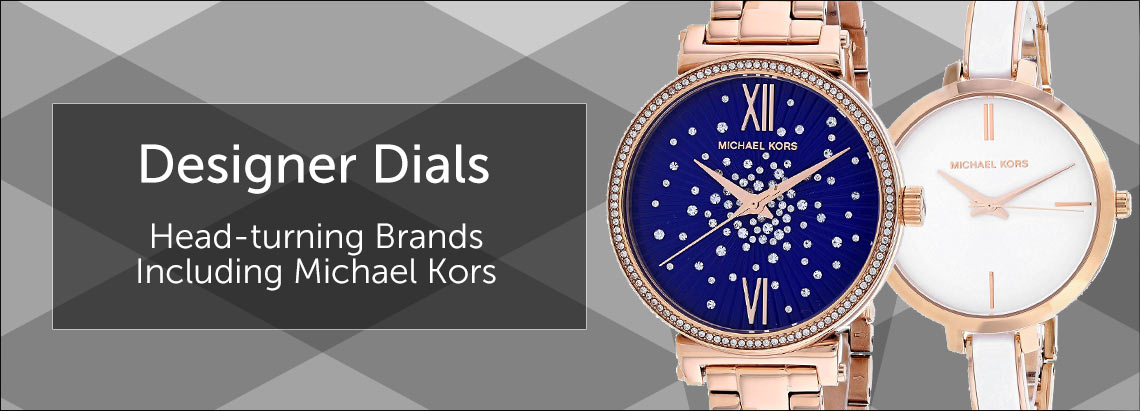 The Luxury of Time Head-turning Brands Including Michael Kors 672-059,  675-144