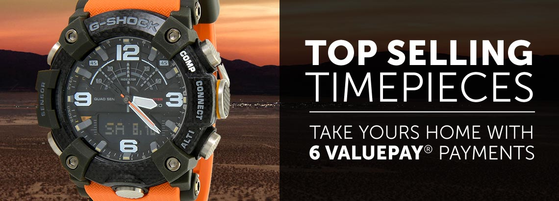 Top-Selling Timepieces Take Yours Home With 6 Valuepay® Payments - 673-617 Casio Men's 46mm G-Shock Mudmaster Q