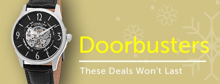 Watch Doorbusters - These Deals Won't Last