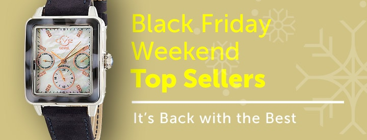Watch Black Friday Weekend Best Sellers - It's Back with the Best