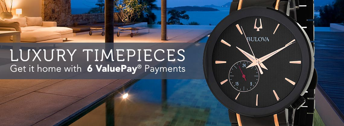 LUXURY TIMEPIECES  Get it home with 6 ValuePay® Payments - 672-257 Bulova 35mm or 42mm Grammy Edition Quartz Bracelet Watch