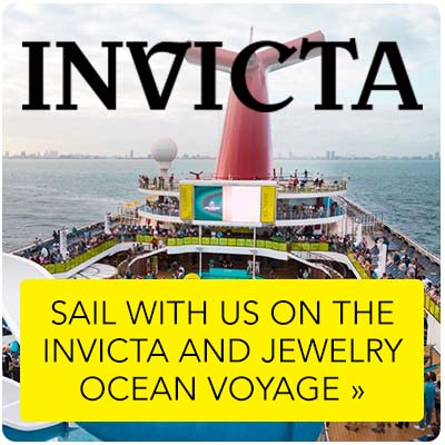 Invicta Weekender at Evine - Take an extended vacation for Ocean Voyage steals