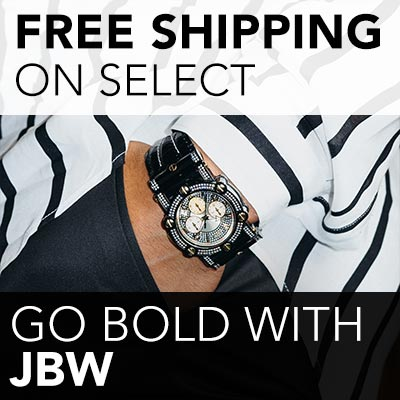 FREE SHIPPING ON SELECT GO BOLD WITH JBW