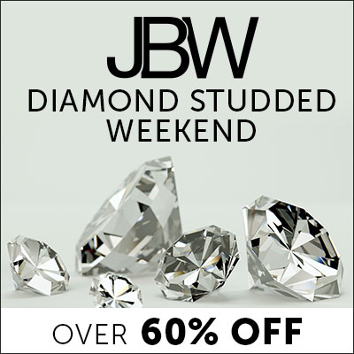 JBW Diamond Studded Weekend - Over 60% Off