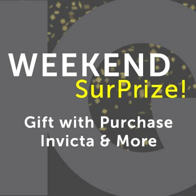 Weekend SurPrize  Gift with Purchase Invicta & More at ShopHQ