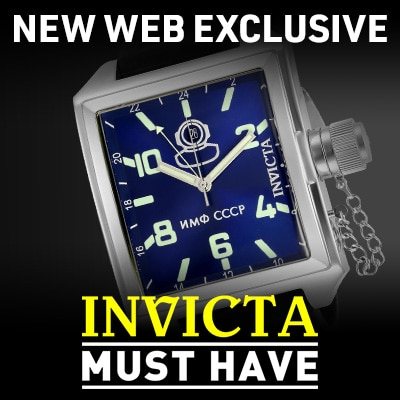 New Web Exclusive Invicta Must-Have for Men on the Go at ShopHQ | 673-585 Invicta Men's 45mm Russian Diver Quartz Silicone Strap Watch