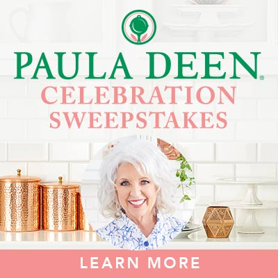 PAULA DEEN CELEBRATION SWEEPSTAKES