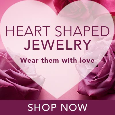 HEART SHAPED JEWELRY Wear them with love at Evine
