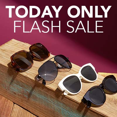 TODAY ONLY FLASH SALE