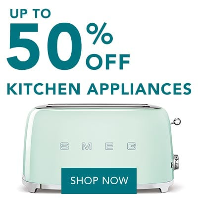 UP TO 50% OFF KITCHEN APPLIANCES at Evine