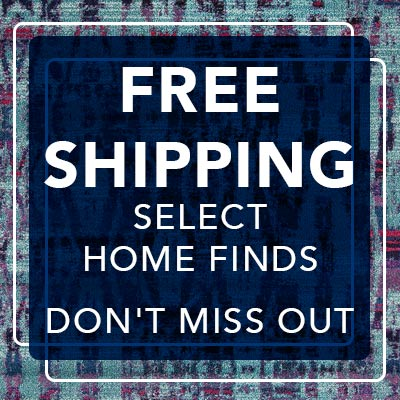 FREE SHIPPING SELECT HOME FINDS at Evine
