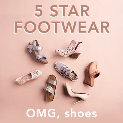 5 STAR FOOTWEAR at Evine
