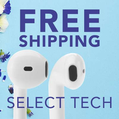 FREE SHIPPING SELECT TECH at Evine