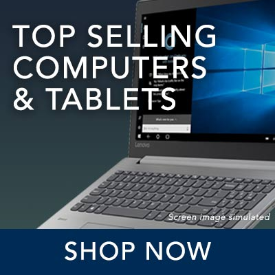 TOP SELLING COMPUTERS & TABLETS at Evine - 482-867 Lenovo IdeaPad 330 15.6 2.6GHz AMD 8GB RAM  128GB SSD Windows 10 Laptop Computer