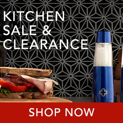 KITCHEN SALE & CLEARANCE at Evine - 476-488 Cook's Companion® Set of 2 USB Rechargeable Gravity Spice Mills