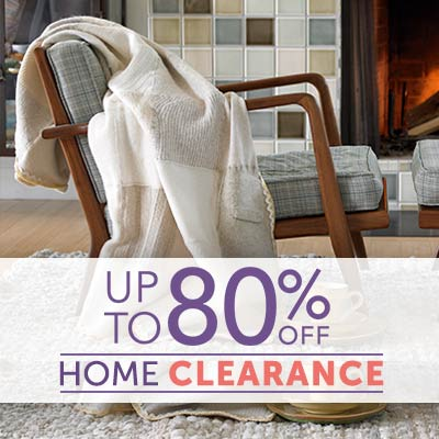 UP TO 80% OFF HOME CLEARANCE at ShopHQ