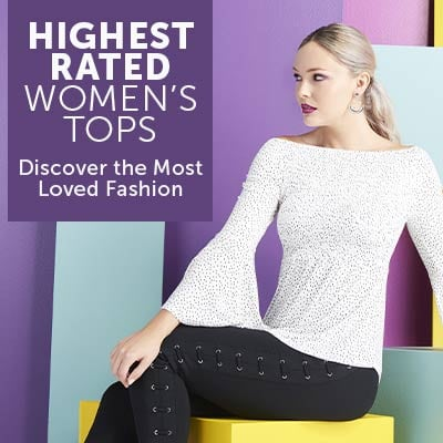 HIGHEST RATED WOMEN'S TOPS Discover the Most Loved Fashion
