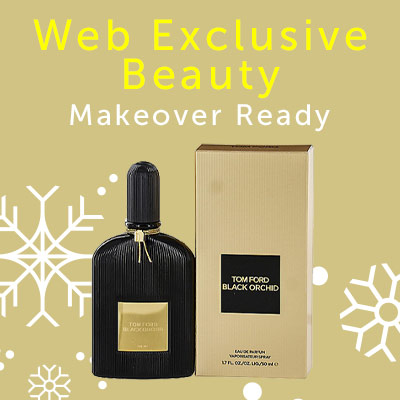 Web Exclusive Beauty Makeover Ready at ShopHQ - 311-248 Tom Ford Black Orchid Eau de Parfum Spray