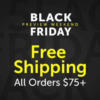 Free Shipping All Orders $75+ Black Friday Preview at ShopHQ