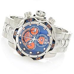 Invicta - New Price Drops at ShopHQ - 648-599 Invicta Men's 52mm Platinum Select Venom Swiss Made Quartz Chronograph Bracelet Watch