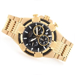 Men's Over 70% OFF at ShopHQ - 650-189 Invicta Men's 50mm Bolt Swiss Quartz Chronograph Stainless Steel Bracelet Watch