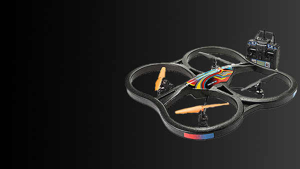 450-837 Panther Spy Drone UFO 4.5 Channel Gyro Quadcopter Drone w Video & Photo Camera