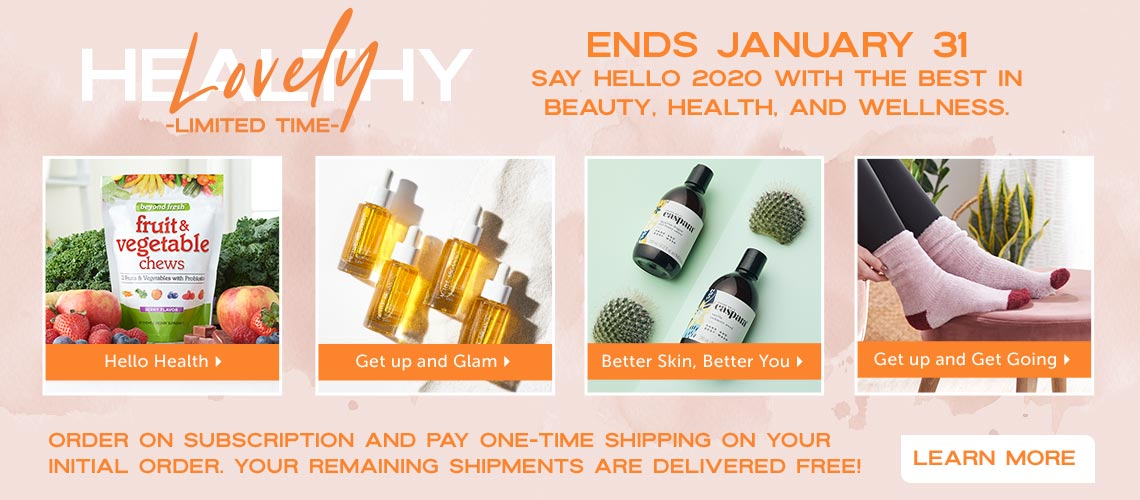 Healthy Lovely - LIMITED TIME at ShopHQ