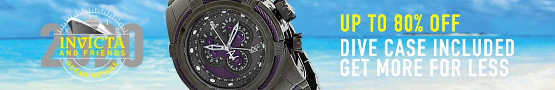 Invicta Up to 80% OFF Dive Case Included Get More For Less at ShopHQ 660-804 Invicta Reserve Men's 52mm JT Bolt Zeus Ltd Ed Swiss Quartz Chronograph Watch w 3-Slot Dive Case