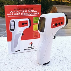 Thermometers 002-687 Medic Therapeutics Contactless Digital Infrared Thermometer