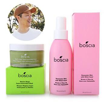 Naturally, Danny Seo Celebrate Farm to Skin Beauty 317-059 boscia Matcha Magic Super Antioxidant Mask & Rosewater Mist Spray