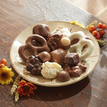 Autumn's Delicious Bounty For Holidays & Everyday - 487-415 Waggoner Chocolates Designer Series Assorted Gourmet 6.75 oz.