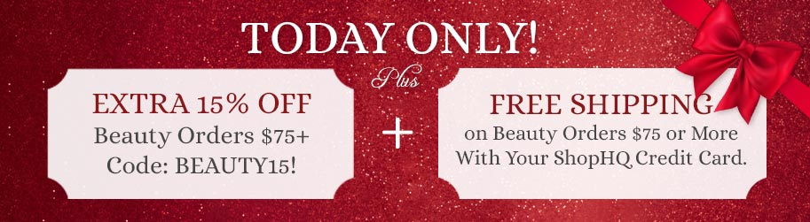 Today Only! Extra 15% Off Beauty Orders $75+ w Code: BEAUTY15!